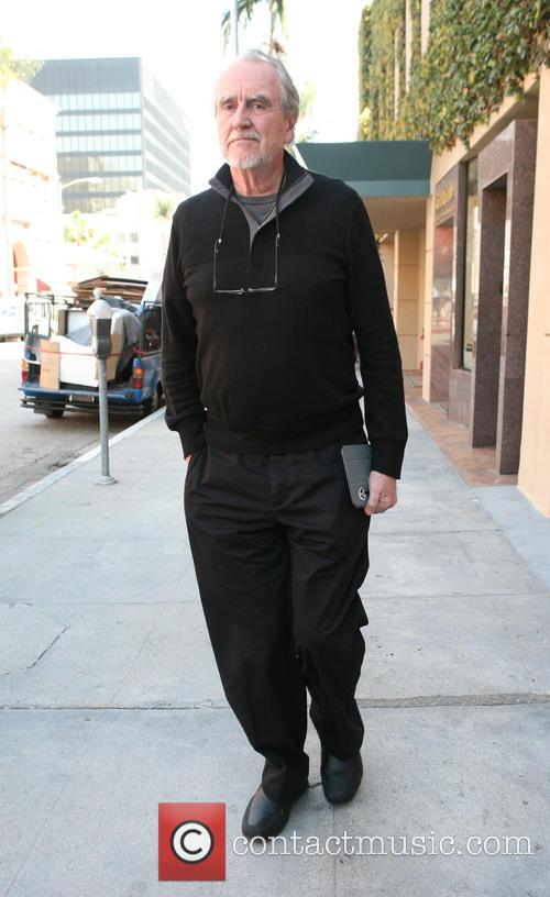 Wes Craven out and about in Beverly Hills