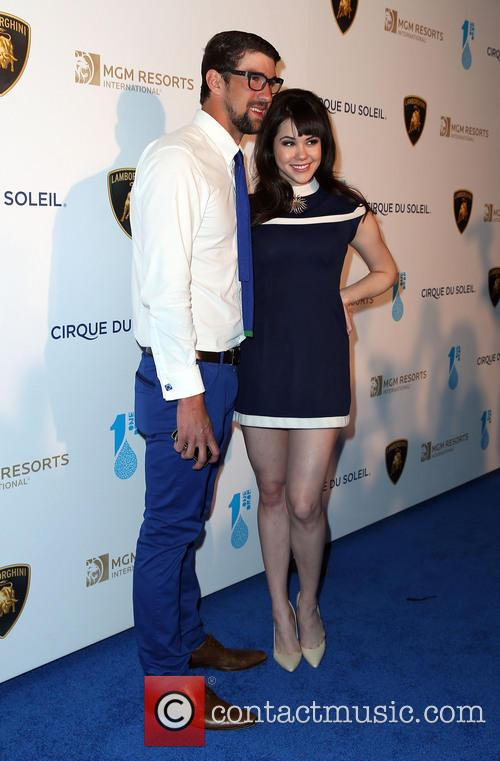 Michael Phelps and Claire Sinclair 3