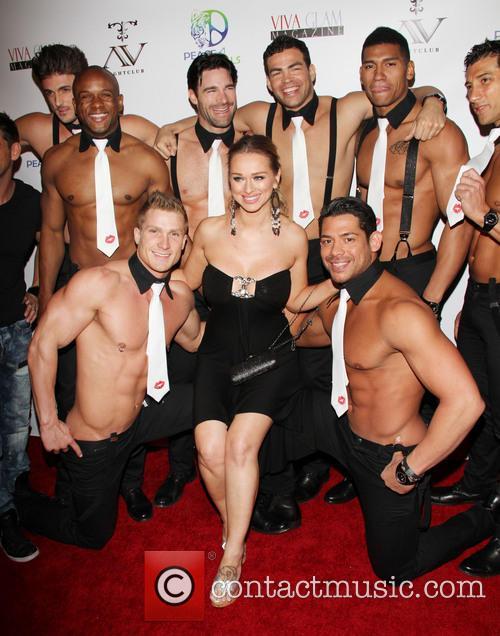 Katrina Van Derham and Men Of The Strip 5