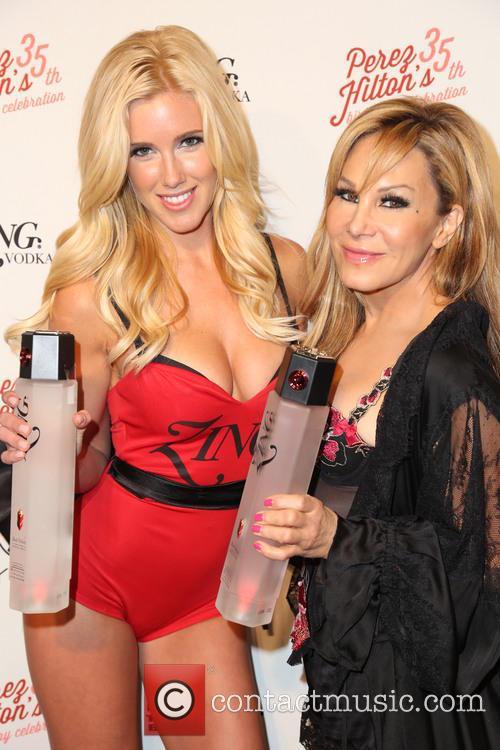 Perez Hilton and Adrienne Maloof 8