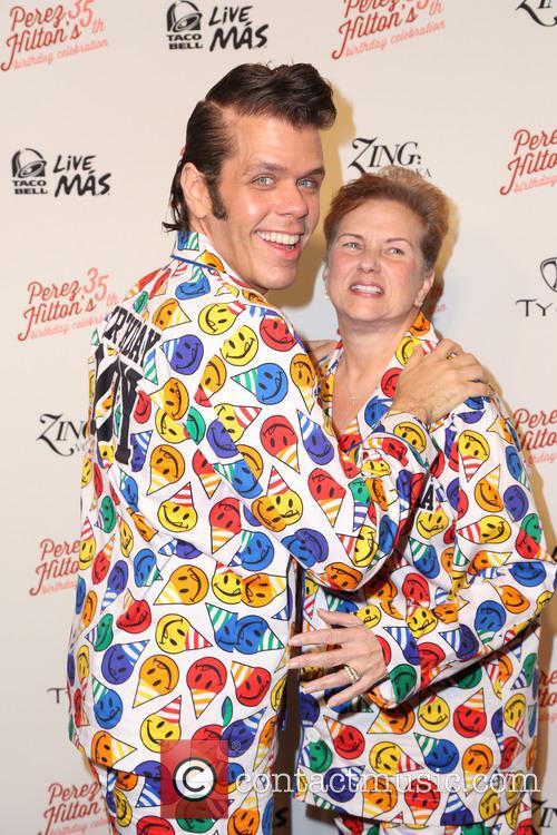 Perez Hilton and His Mom 2