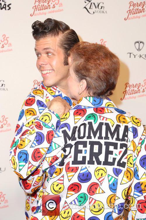 Perez Hilton and His Mom 9