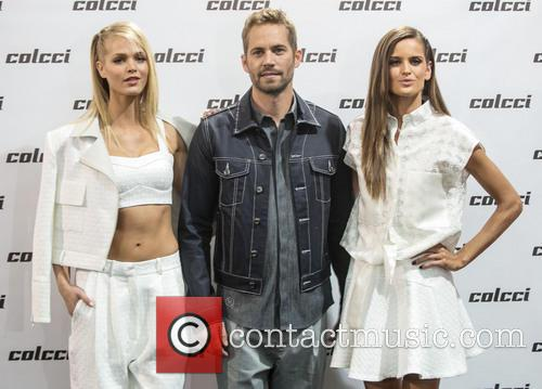 Erin Heatherton, Paul Walker and Izabel Gulart 2