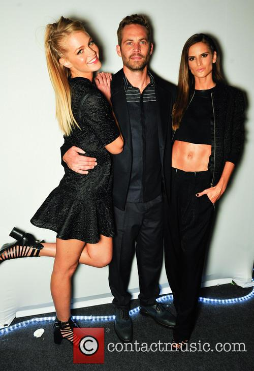 Erin Heatherton, Paul Walker and Izabel Gulart 1