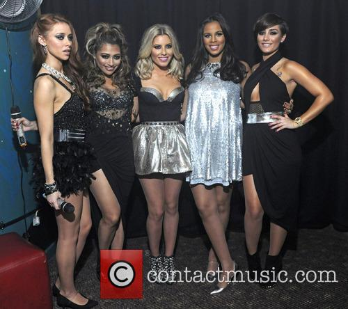 Una Healy, Vanessa White, Mollie King, Rochelle Wiseman Aka Rochelle Humes and Frankie Sandford Of The Saturdays 1