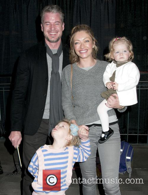 Eric Dane, Rebecca Gayheart, Georgia Dane and Billie Beatrice Dane 1