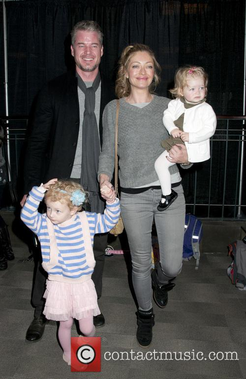 Eric Dane, Rebecca Gayheart, Georgia Dane and Billie Beatrice Dane 3