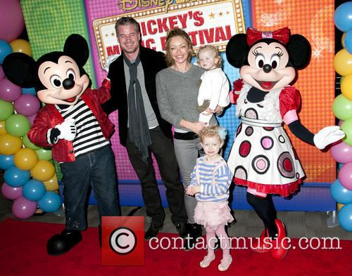 Eric Dane, Rebecca Gayheart, Georgia Dane and Billie Beatrice Dane 4