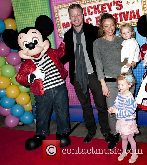 Eric Dane, Rebecca Gayheart, Georgia Dane and Billie Beatrice Dane 6