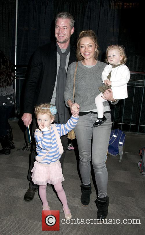 Eric Dane, Rebecca Gayheart, Georgia Dane and Billie Beatrice Dane 7