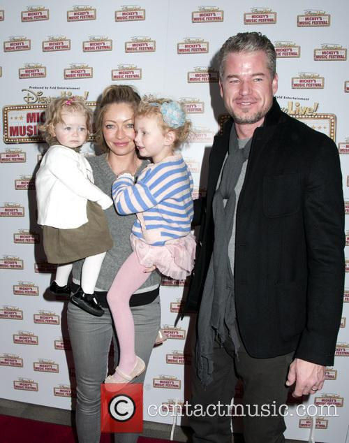 Rebecca Gayheart, Georgia Dane, Billie Beatrice Dane and Eric Dane 2