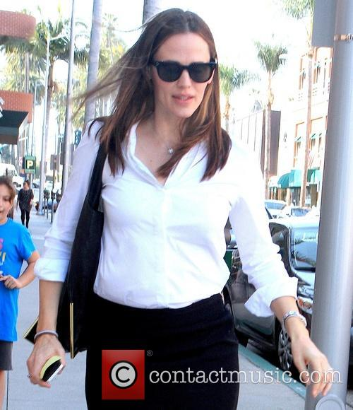 Jennifer Garner Sighted on Bedford Drive