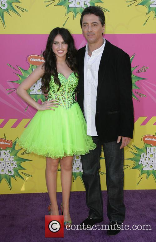 Ryan Newman and Scott Baio