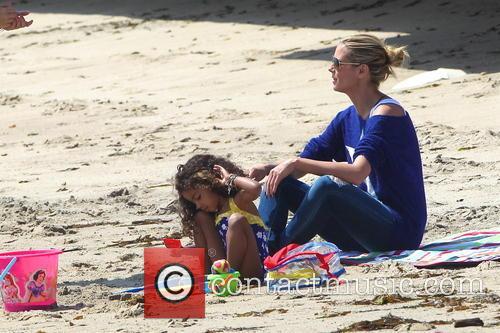 Heidi Klum and Malibu Beach 2