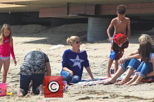 Heidi Klum and Malibu Beach 3