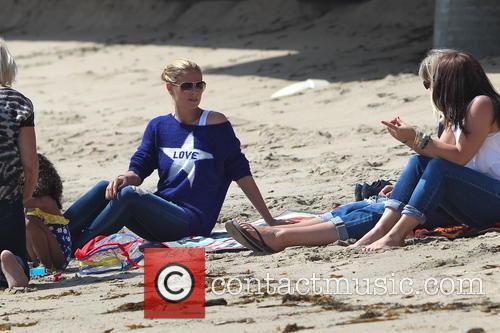 Heidi Klum and Malibu Beach 4