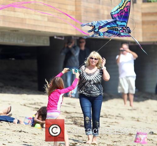 Heidi Klum and Malibu Beach 1