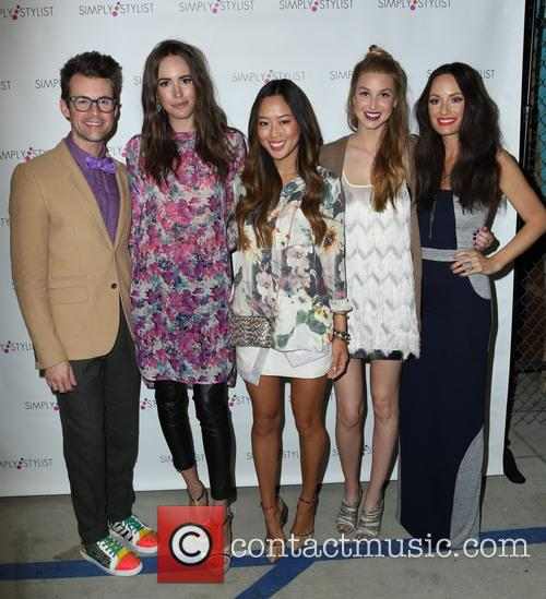 Brad Goreski, Louise Roe, Aimee Song, Whitney Port and Catt Sadler 6