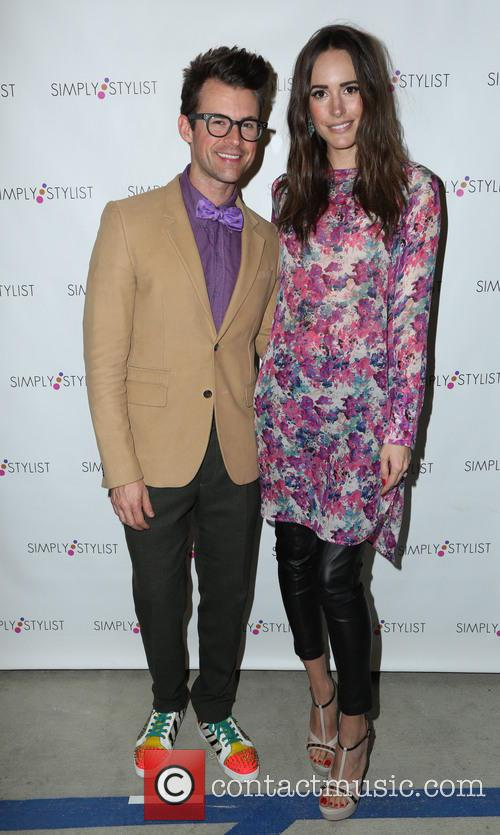 Brad Goreski and Louise Roe 4