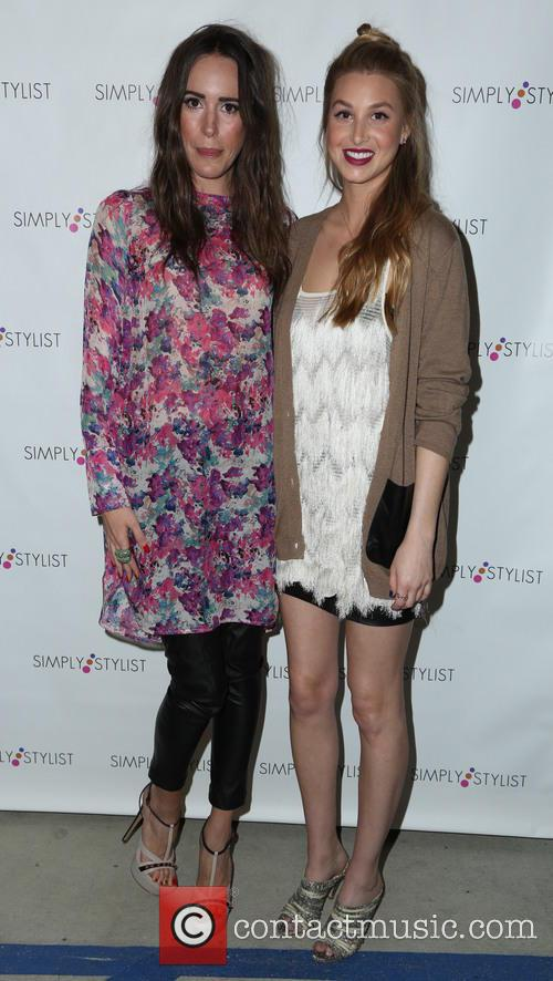 Louise Roe and Whitney Port 1