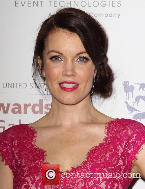 Genesis and Bellamy Young 4