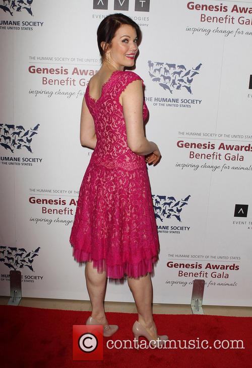 Genesis and Bellamy Young 6