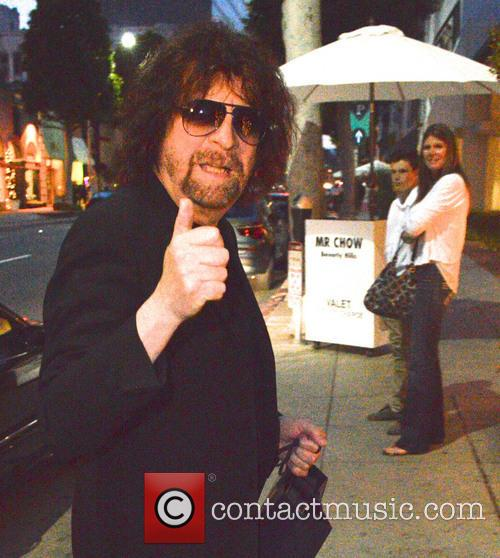 Jeff Lynne at Mr. Chow restaurant