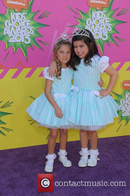 Rosie Mcclelland (l) and Sophia Grace Brownlee 11