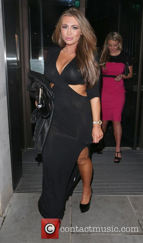 Lauren Goodger leaving STK restaurant