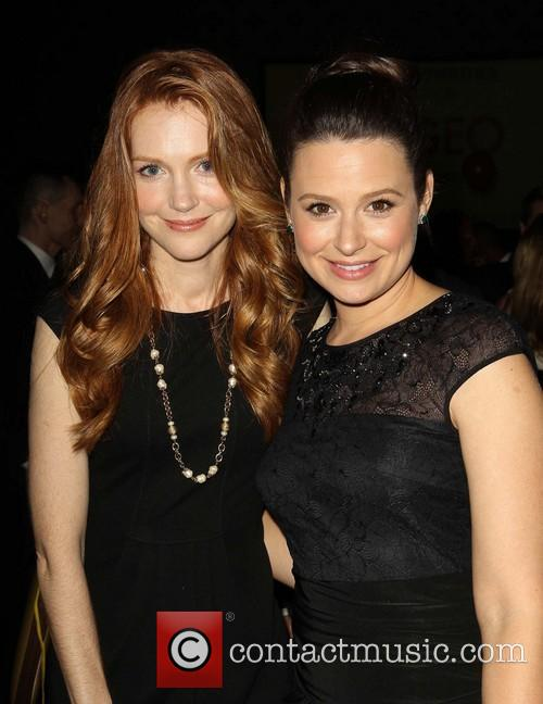 Katie Lowes and Darby Stanchfield 2
