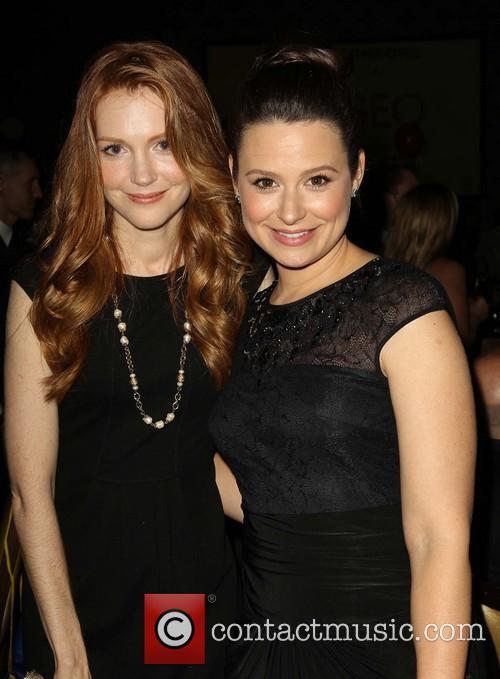 Katie Lowes and Darby Stanchfield 3