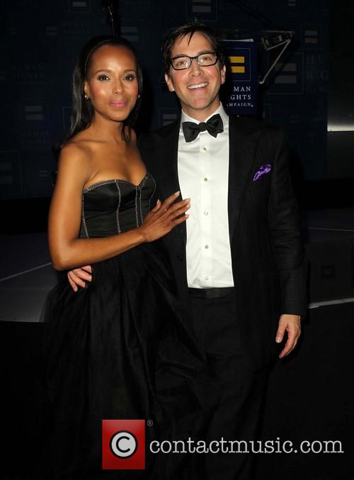 Kerry Washington and Dan Bucatinsky 4