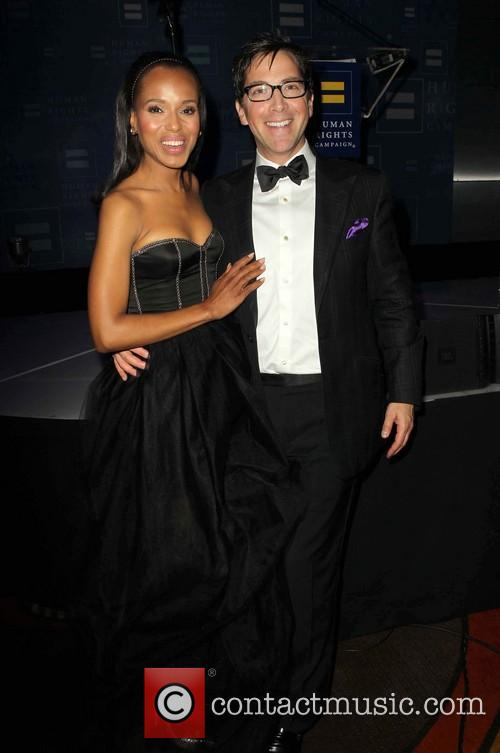 Kerry Washington and Dan Bucatinsky 10