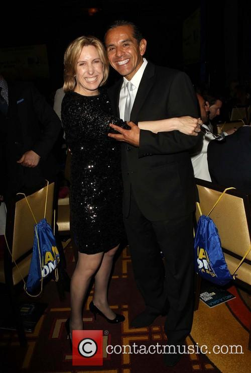 Antonio Villaraigosa and Wendy Greuel 4