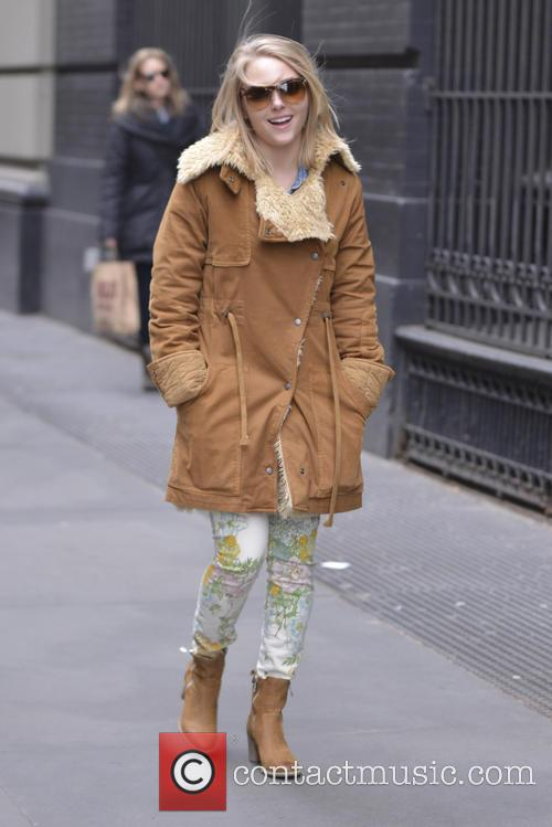 AnnaSophia Robb seen out and about in SoHo