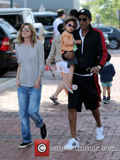 Ellen Pompeo, Chris Ivery and Stella Ivery 9