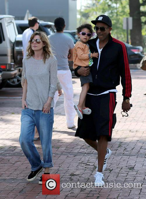 Ellen Pompeo, Chris Ivery and Stella Ivery 10