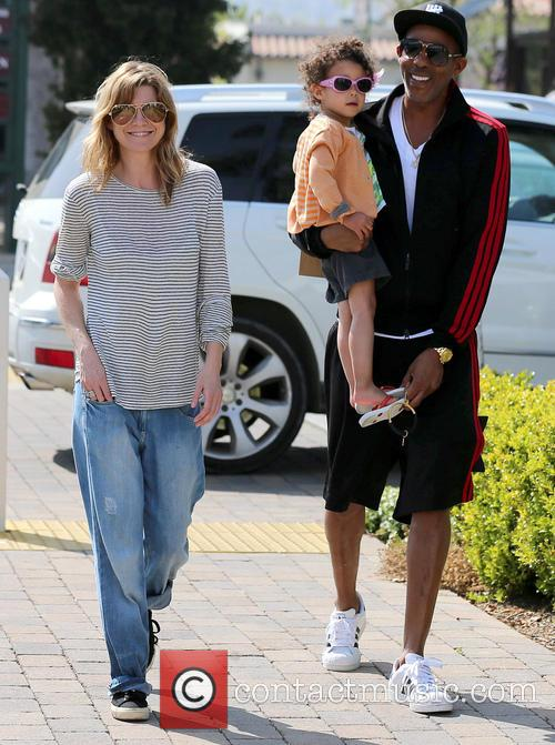 Ellen Pompeo, Chris Ivery and Stella Ivery 1