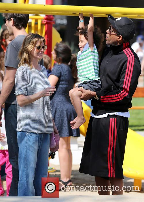 Ellen Pompeo, Chris Ivery and Stella Ivery 14