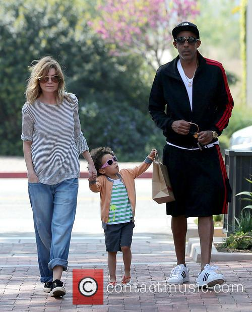 Ellen Pompeo, Chris Ivery and Stella Ivery 15