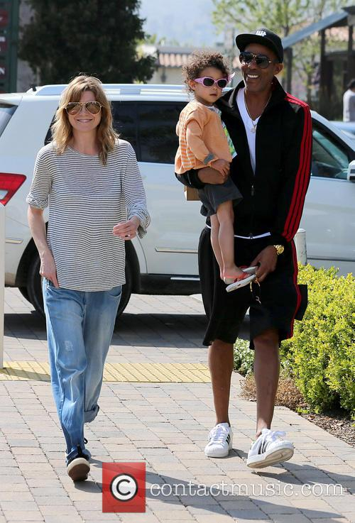 Ellen Pompeo, Chris Ivery and Stella Ivery 20