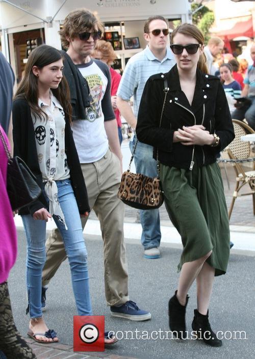 Emma Roberts, Evan Peters and Grace Nickels 10