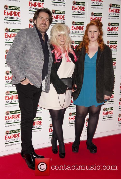 Jonathan Ross, Jane Goldman with daughter, Empire Film Awards, Grosvenor House