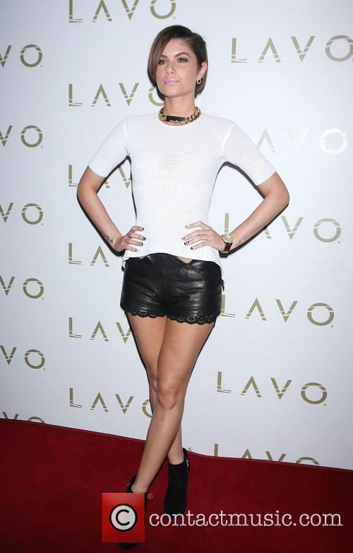 Leah Labelle hosts an evening at Lavo Nightclub