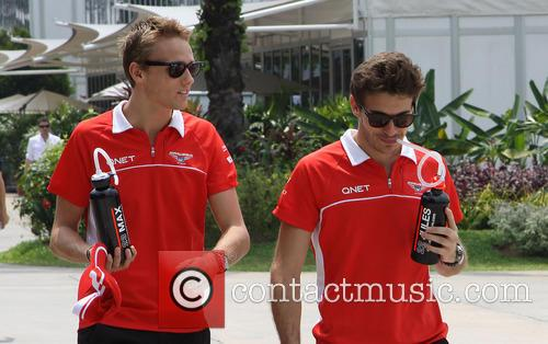 Max Chilton and Jules Bianchi 5