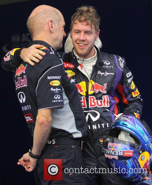 Adrian Newey, Sebastian Vettel,  near KUALA LUMPUR