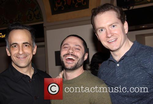 David Pittu, Joshua Bergasse and Adam Monley 1