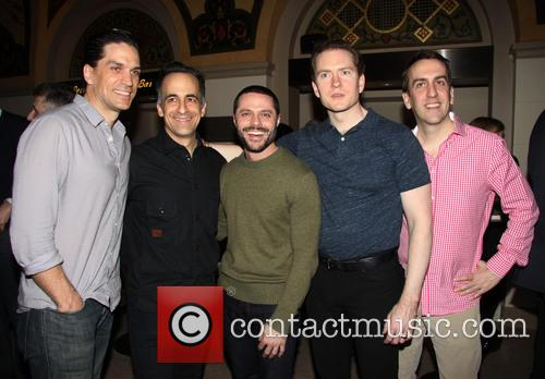 Will Swenson, David Pittu, Joshua Bergasse, Adam Monley and Rob Berman 2