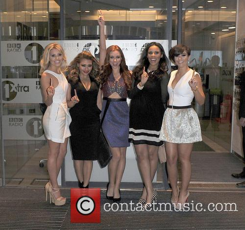 Mollie King, Vanessa White, Una Healy, Rochelle Humes and Frankie Sandford 4