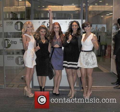 Mollie King, Vanessa White, Una Healy, Rochelle Humes and Frankie Sandford 1